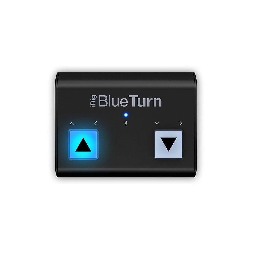Cambiador de páginas Bluetooth iRig BlueTurn de IK Multimedia