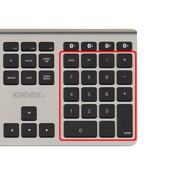 Teclado Kanex Bluetooth para Mac e iOS
