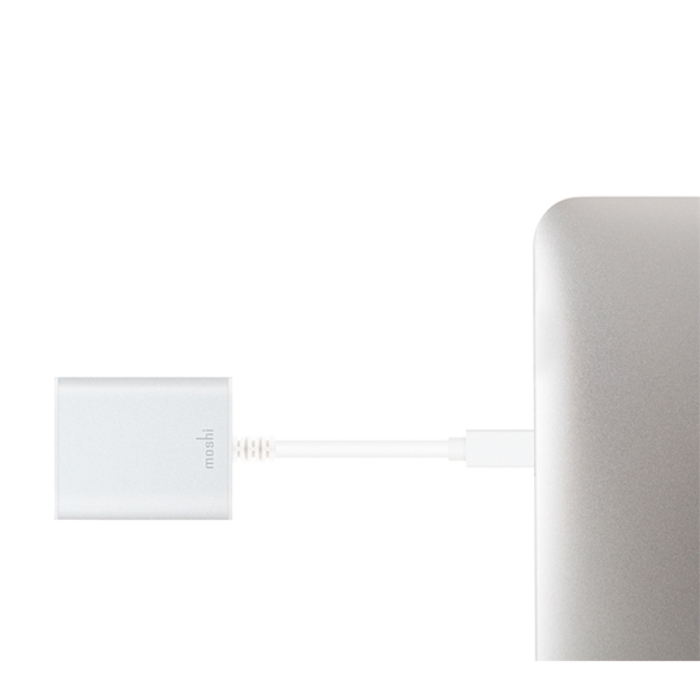 Adaptador MiniDisplay Port  a HDMI 4K de Moshi