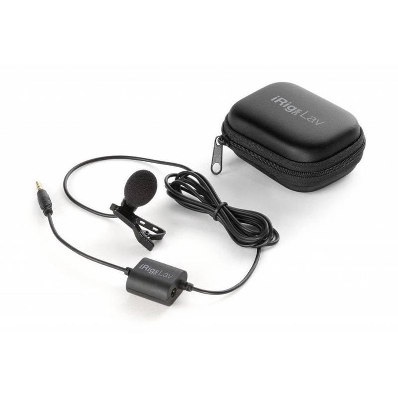 Micrófono móvil de solapa iRig Mic Lav de IK Multimedia