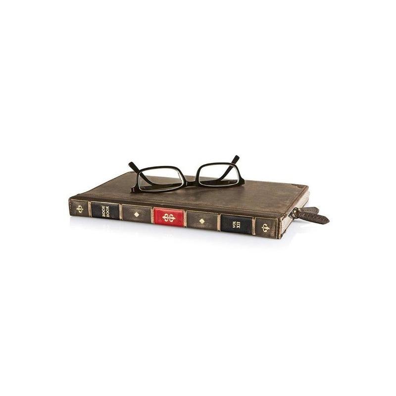Funda para iPad mini BookBook de cuero con cierre