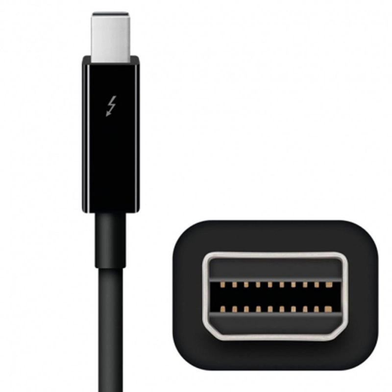 Cable Thunderbolt de Apple (0,5 m) - Negro