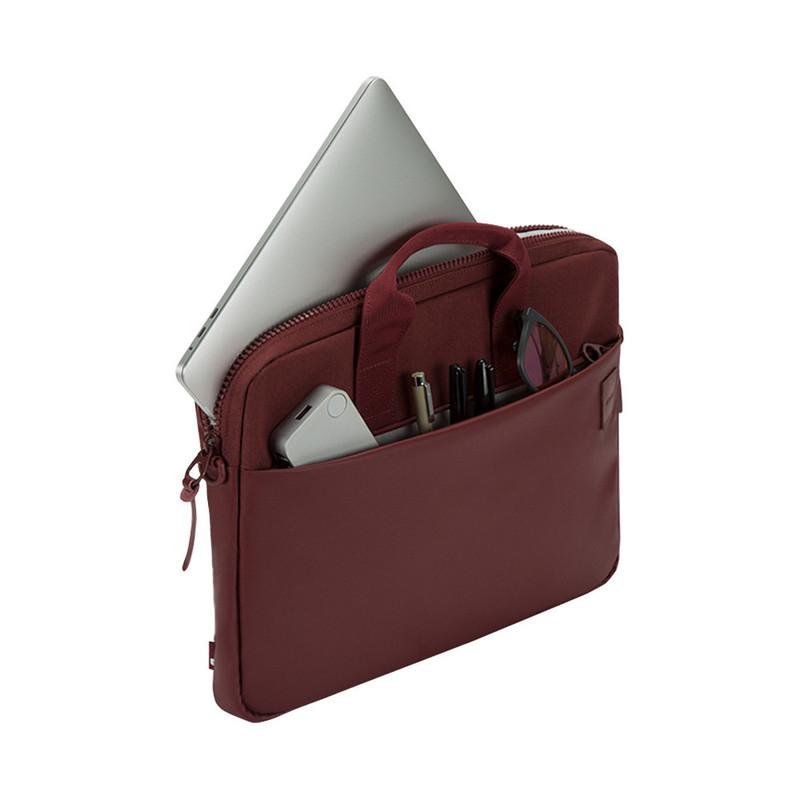 Bolso para MacBook Pro de 15'' Compass Brief burdeo de Incase