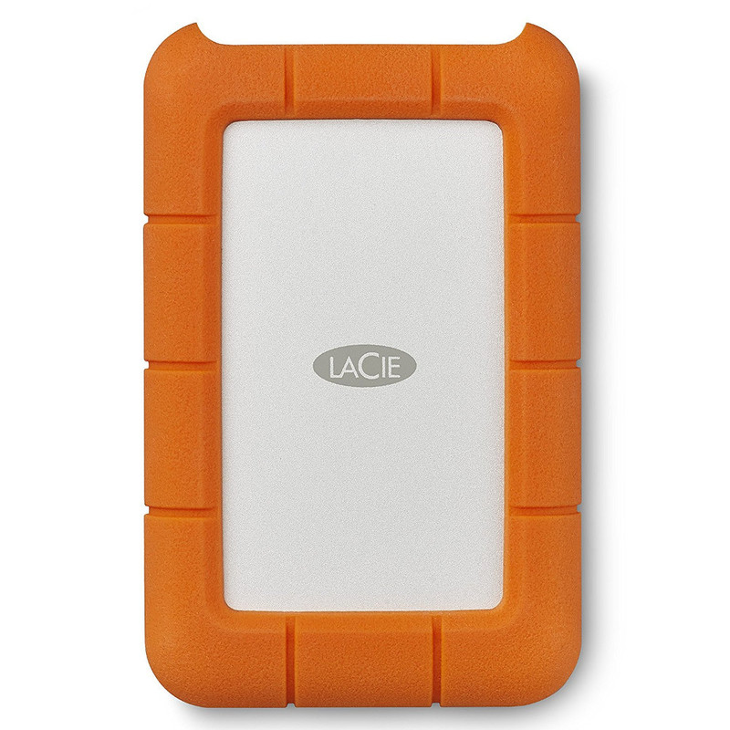 Disco Duro LaCie 4 TB, Rugged USB-C y USB3