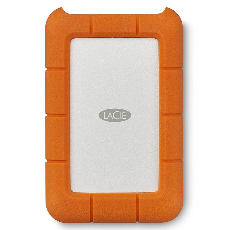 Disco Duro LaCie 4 TB, Rugged USB-C y USB3