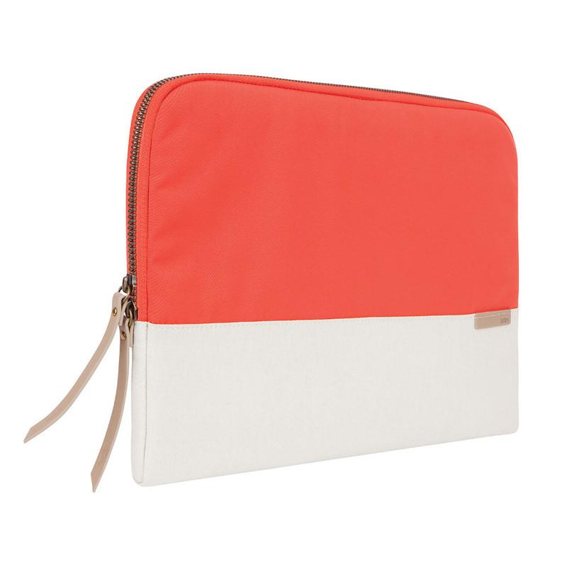 Funda para MacBook Pro 15'' STM beige-coral
