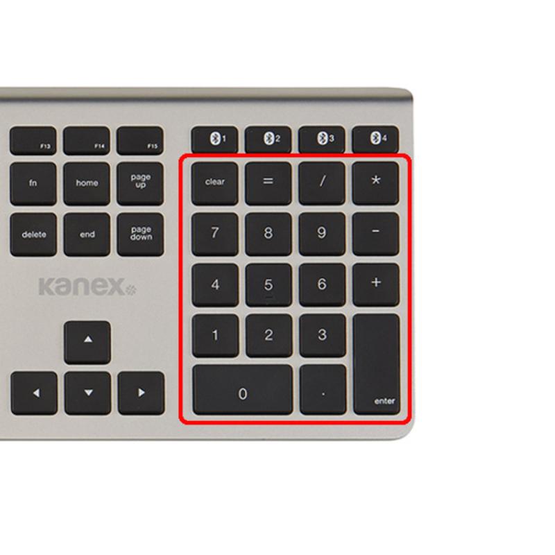 Teclado Kanex Bluetooth en español para Mac e iOS