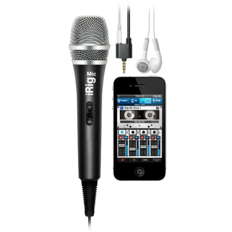 Micrófono iRig Mic de IK Multimedia