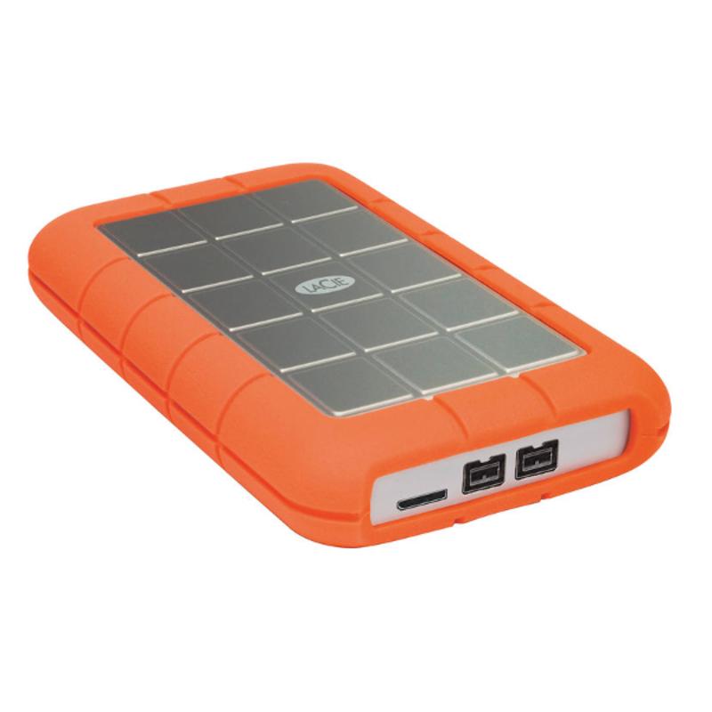 Disco Duro LaCie 2 TB Rugged FireWire y USB3
