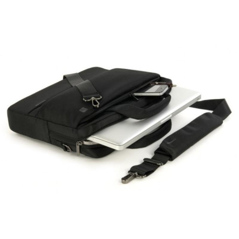 Bolso Tucano Dritta Negro para portable de 15''
