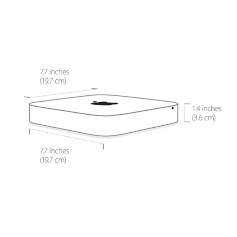 Mac mini dual-core 2.8 GHz Intel Core i5, 8GB, 1TB FD
