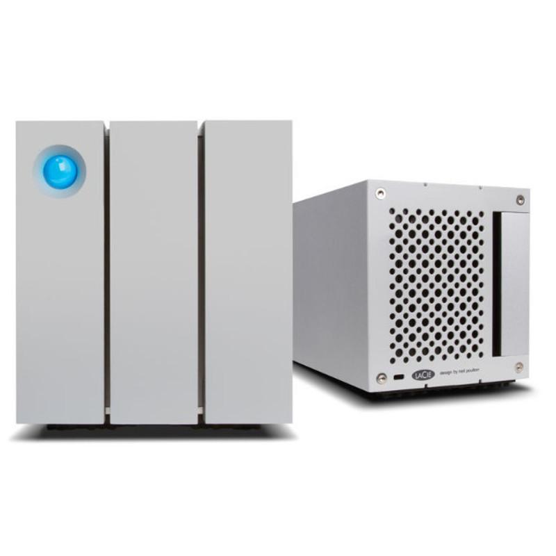 Disco Duro Lacie 16 TB, 2big RAID, Thunderbolt 2 y USB3 v2