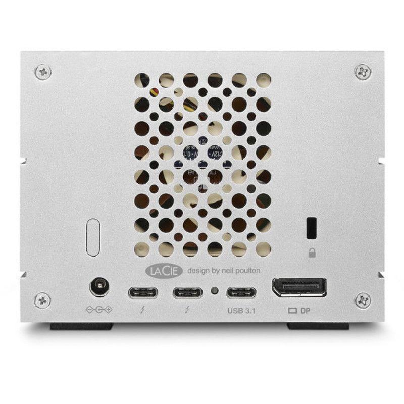 Disco Duro LaCie 20 TB, 2 BIG Dock, RAID,Thunderbolt 3 y USB-C