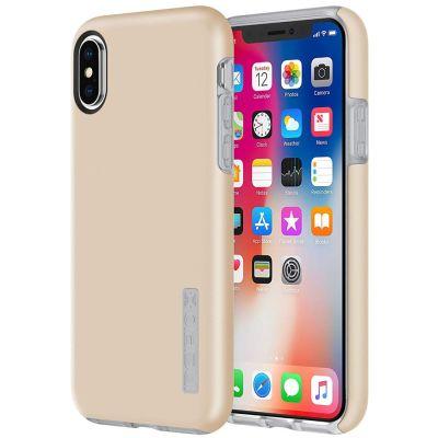 Carcasa para iPhone X y XS DUALPRO Dorada de Incipio