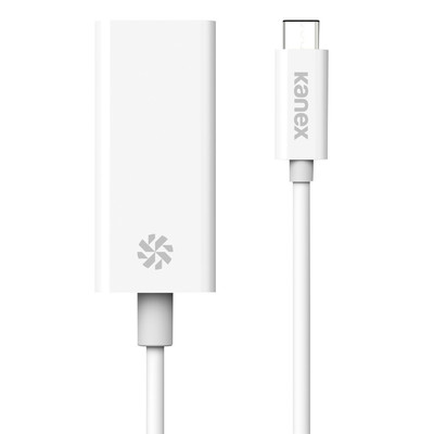 Adaptador USB-C a Gigabit ethernet de Kanex