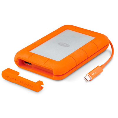 Disco Duro LaCie 1 TB Rugged v2 Thunderbolt2 & USB3