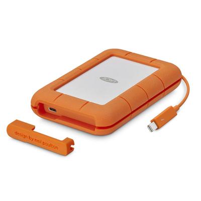 Disco Duro LaCie 2 TB, Rugged Thunderbolt, USB-C y USB3