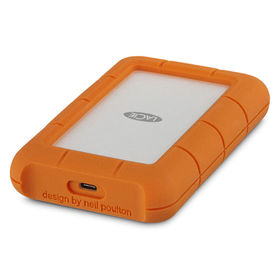 Disco Duro LaCie 1 TB Rugged Mini USB-C y USB3