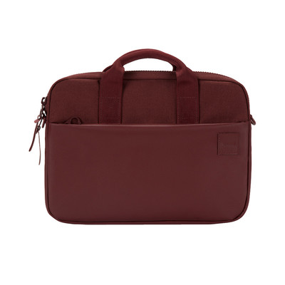 Bolso para MacBook Pro de 13'' Compass Brief burdeo de Incase