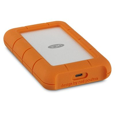 Disco Duro LaCie 5 TB, Rugged USB-C y USB3