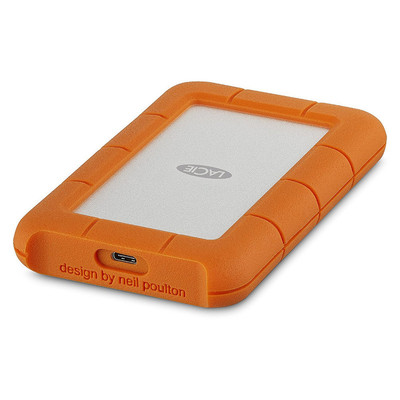 Disco Duro LaCie 1 TB Rugged Mini USB-C y USB3 v1