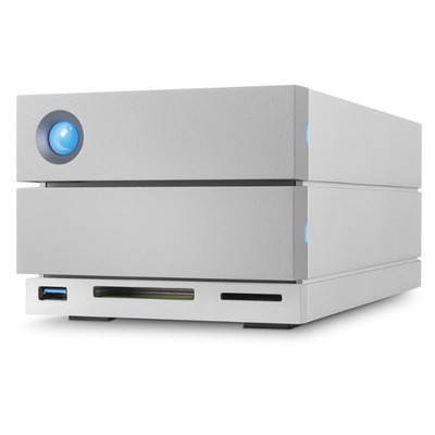 Disco Duro LaCie 16 TB, 2 BIG Dock, RAID,Thunderbolt 3 y USB-C