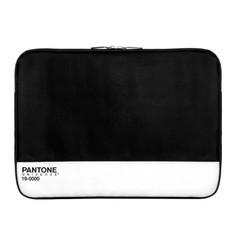 Funda para Macbook Pro 13'' negra-blanca de Case-Scenario