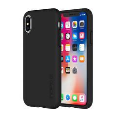 Carcasa para iPhone X DUALPRO negra de Incipio