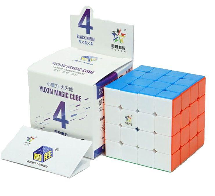 4x4x4 Yuxin Black Kylin