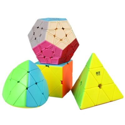 Set 4 Cubos Qiyi Irregulares