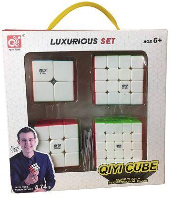 Set 4 Cubos Qiyi Regulares