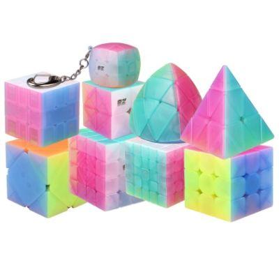 Set 9 Cubos Jelly Qiyi