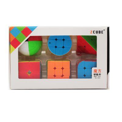 Set 6 llaveros Z-cube