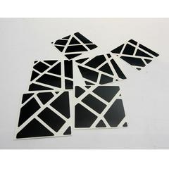 Stickers Ghost negro Z-stickers