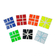 Square 1 Stickers Z-stickers