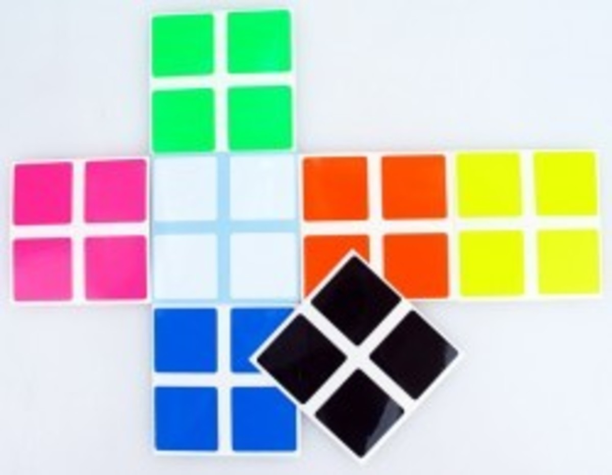 2x2x2 Stickers