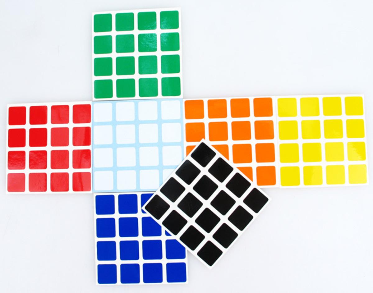 Stickers 4x4x4