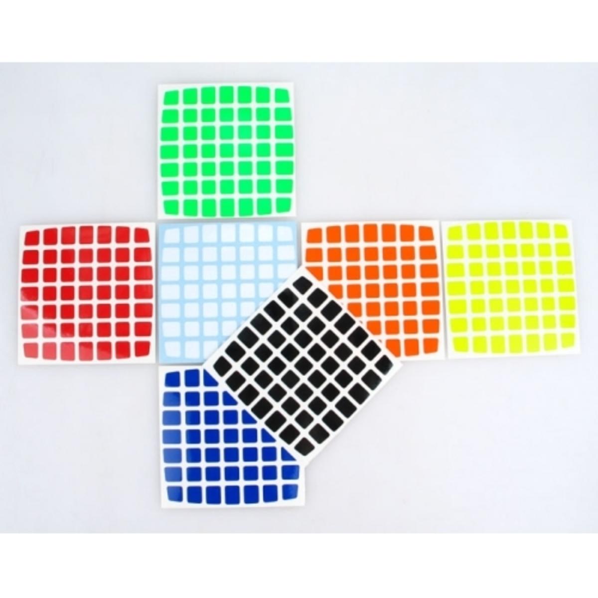 7x7x7 Stickers HB Z-stickers