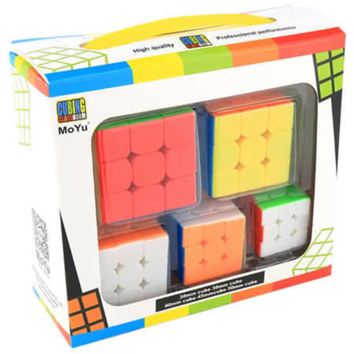Set Mini Cubos MF