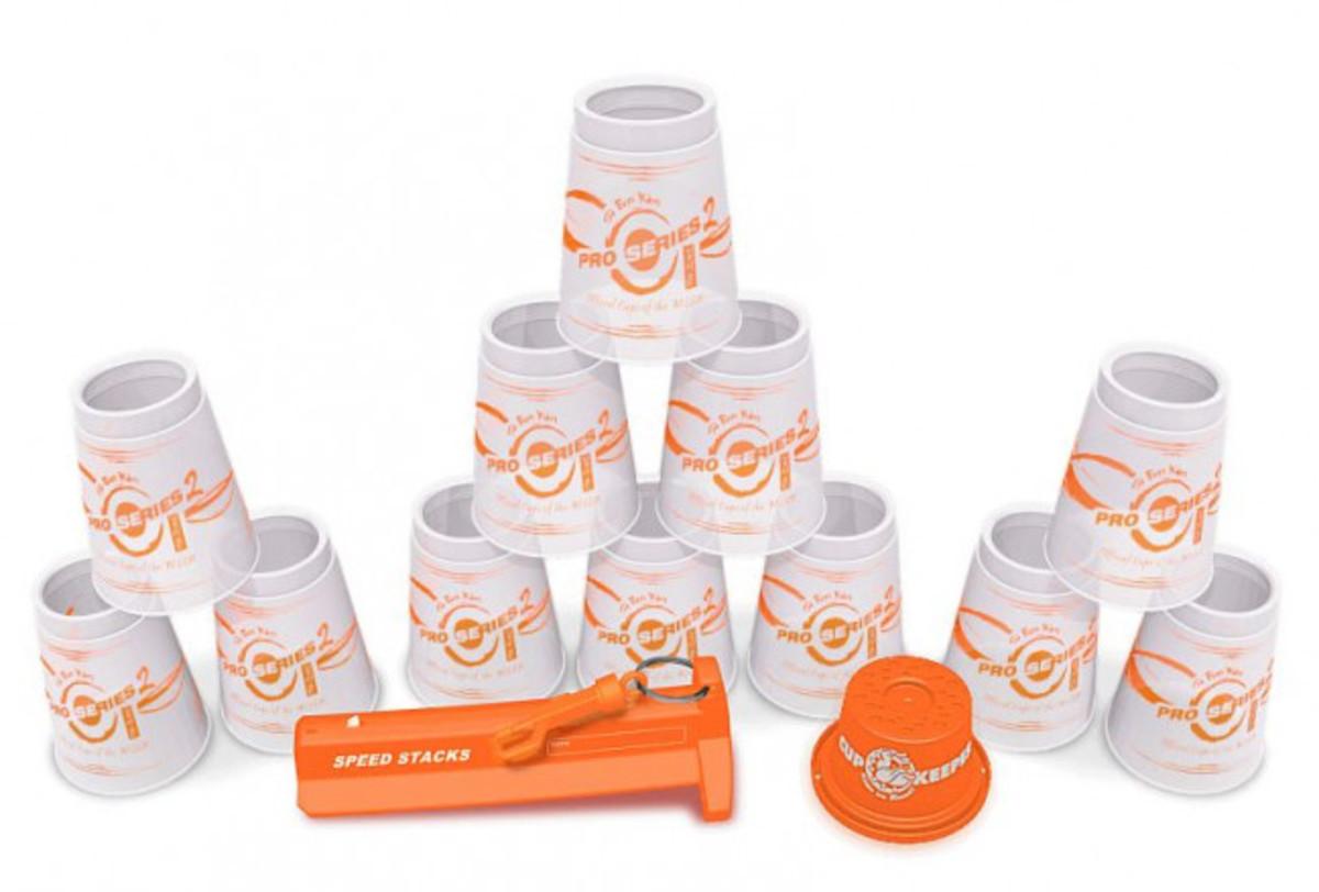 Pro Series SpeedStacks Clear Orange