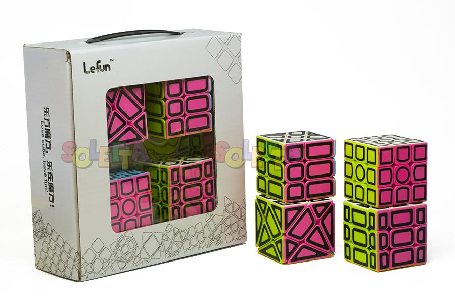 Set de 4 Cubos Hollow Lefun