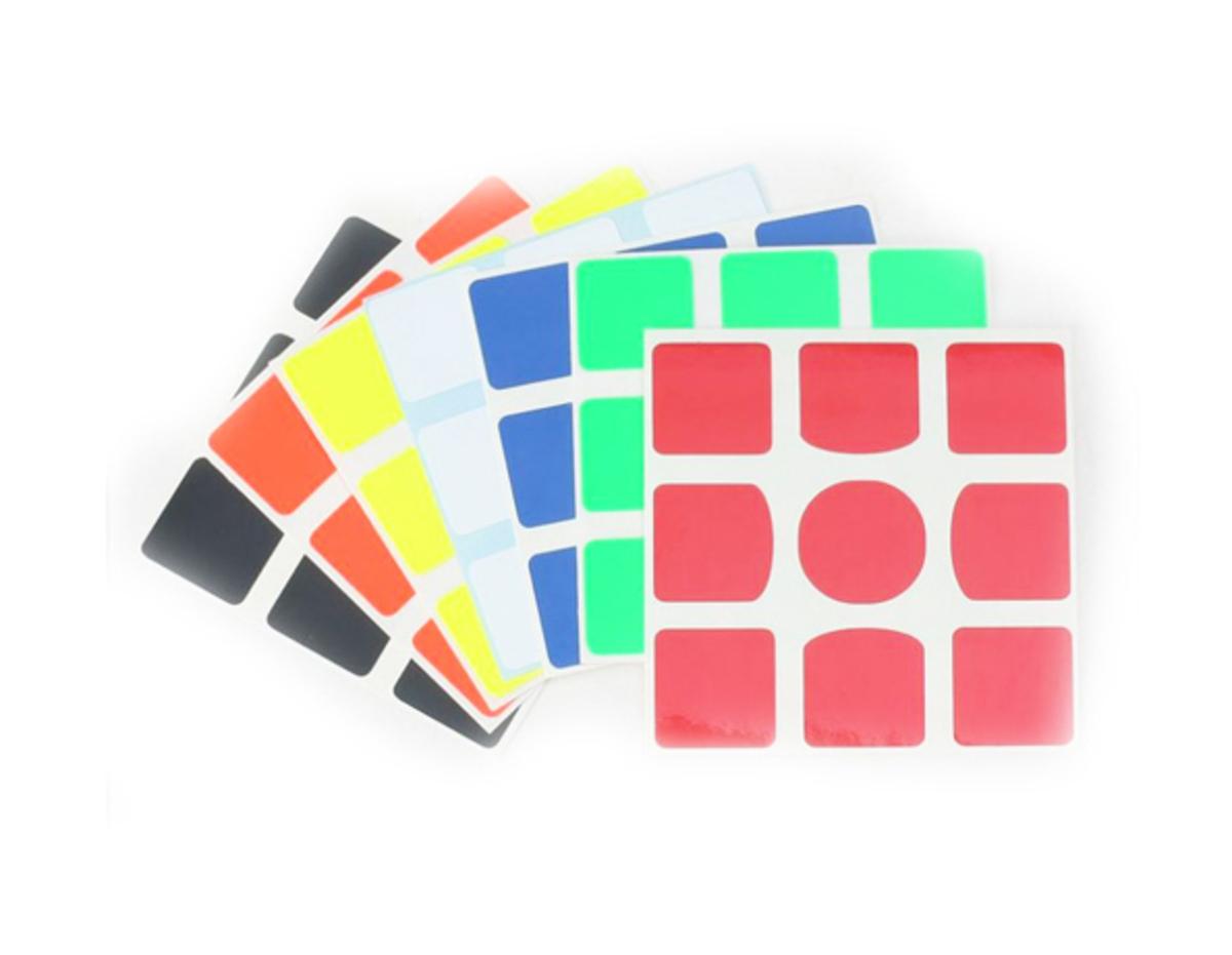 Stickers 3x3x3 Gans
