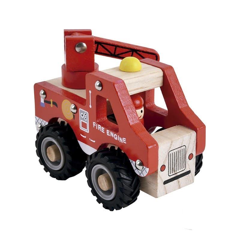 Camión Bomberos Madera