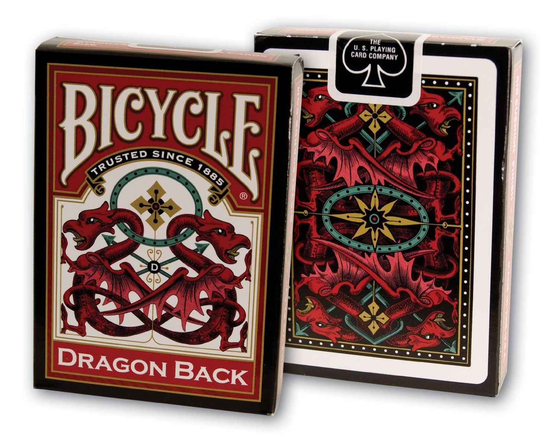 Baraja Bicycle Dragon Back