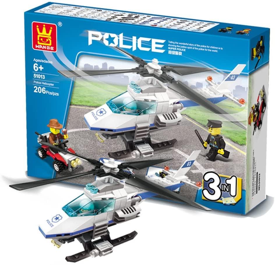 Helicóptero Policial 3 en 1 Lego