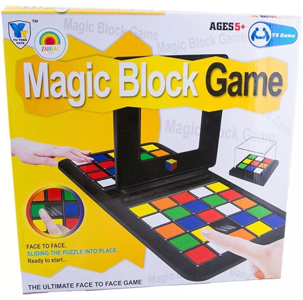 Magic Block Rubik Race Game