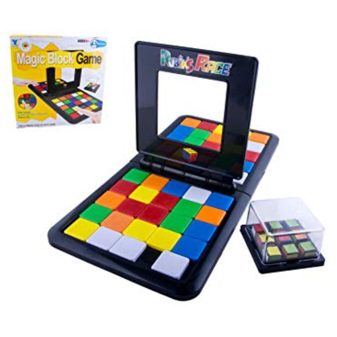 Magic Block Rubik Race Game