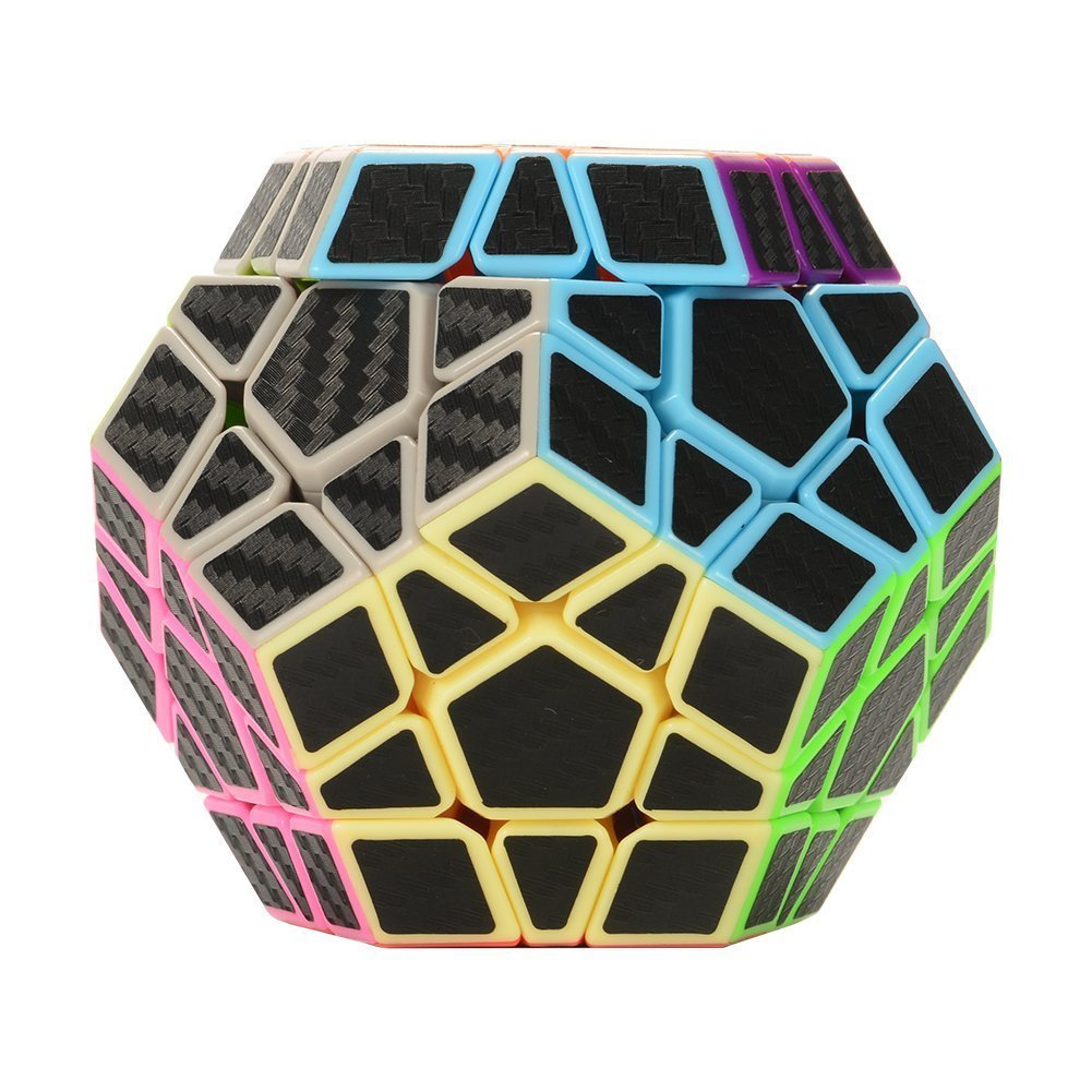 Megaminx Cobra Fibra de Carbono CubeStyle