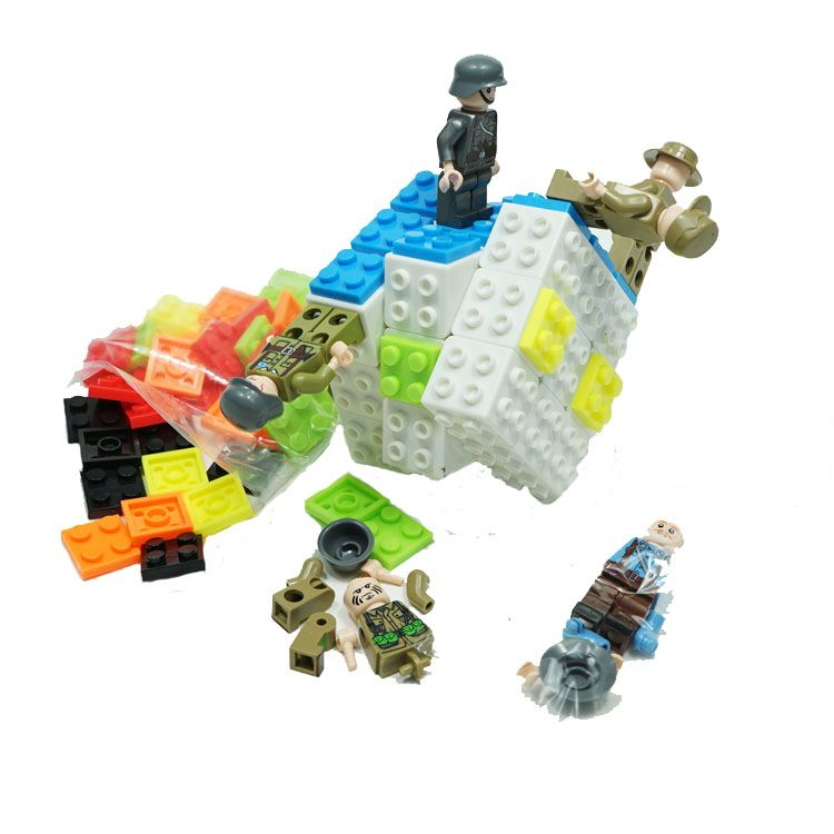 Personajes Cubo Lego