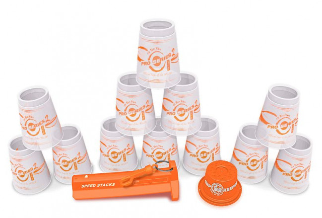 Pro Series SpeedStacks Clear Orange